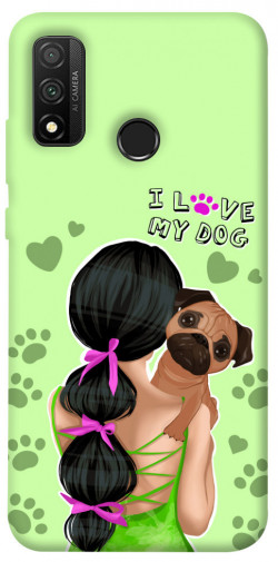 Чехол itsPrint Love my dog для Huawei P Smart (2020)