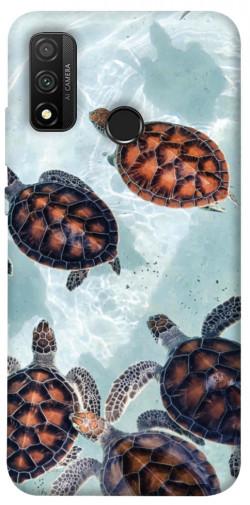 Чехол itsPrint Морские черепахи для Huawei P Smart (2020)