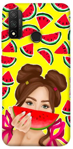 Чехол itsPrint Watermelon girl для Huawei P Smart (2020)