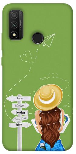 Чехол itsPrint Travel girl для Huawei P Smart (2020)