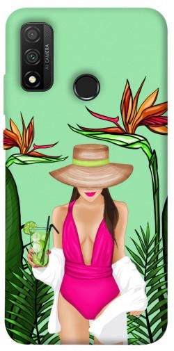 Чехол itsPrint Tropical girl для Huawei P Smart (2020)