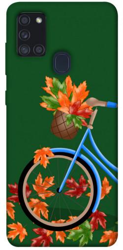 Чехол itsPrint Осенняя прогулка для Samsung Galaxy A21s