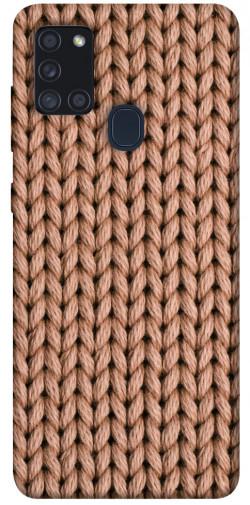 Чехол itsPrint Knitted texture для Samsung Galaxy A21s