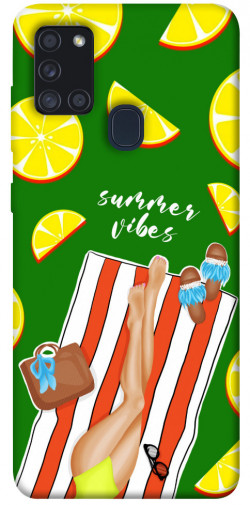 Чехол itsPrint Summer girl для Samsung Galaxy A21s
