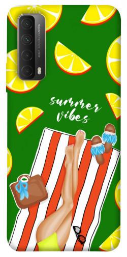 Чехол itsPrint Summer girl для Huawei P Smart (2021)