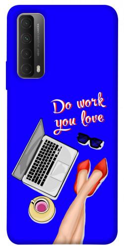 Чехол itsPrint Do work you love для Huawei P Smart (2021)