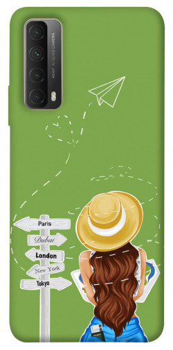 Чехол itsPrint Travel girl для Huawei P Smart (2021)