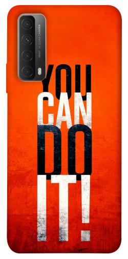 Чехол itsPrint You can do it для Huawei P Smart (2021)