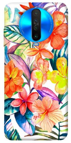 Чехол itsPrint Цветочный коктейль для Xiaomi Poco X2