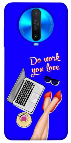 Чехол itsPrint Do work you love для Xiaomi Poco X2