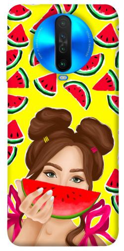 Чехол itsPrint Watermelon girl для Xiaomi Poco X2