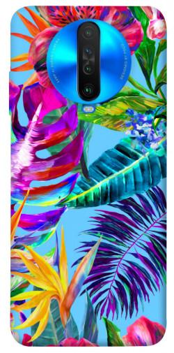 Чехол itsPrint Watercolor flowers для Xiaomi Poco X2