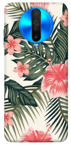Чехол itsPrint Tropic flowers для Xiaomi Poco X2