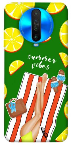 Чехол itsPrint Summer girl для Xiaomi Poco X2