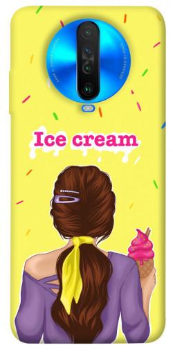 Чехол itsPrint Ice cream girl для Xiaomi Poco X2