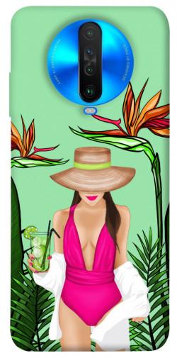 Чехол itsPrint Tropical girl для Xiaomi Poco X2