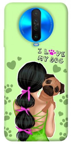Чехол itsPrint Love my dog для Xiaomi Poco X2