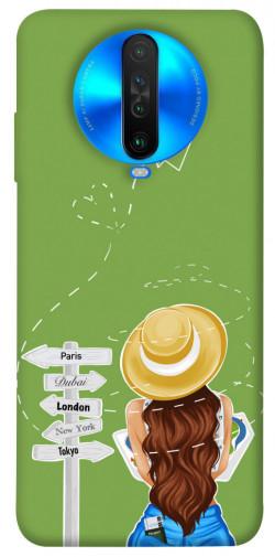 Чехол itsPrint Travel girl для Xiaomi Poco X2
