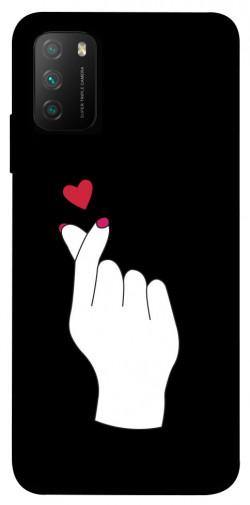 Чехол itsPrint Сердце в руке для Xiaomi Poco M3