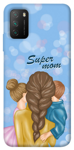 Чехол itsPrint Super mommy для Xiaomi Poco M3