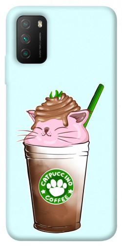 Чехол itsPrint Catpuccino для Xiaomi Poco M3