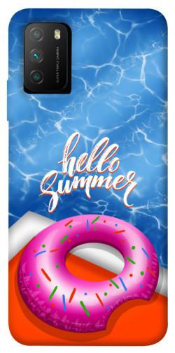 Чехол itsPrint Hello summer для Xiaomi Poco M3
