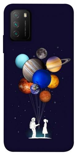 Чехол itsPrint Галактика для Xiaomi Poco M3