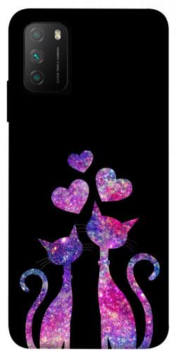 Чехол itsPrint Космические коты для Xiaomi Poco M3