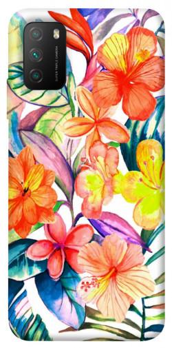 Чехол itsPrint Цветочный коктейль для Xiaomi Poco M3