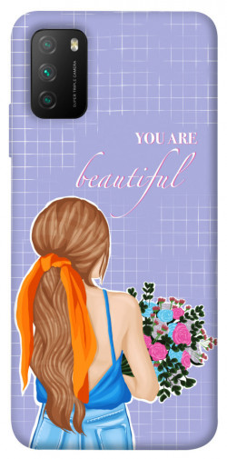 Чехол itsPrint You are beautiful для Xiaomi Poco M3