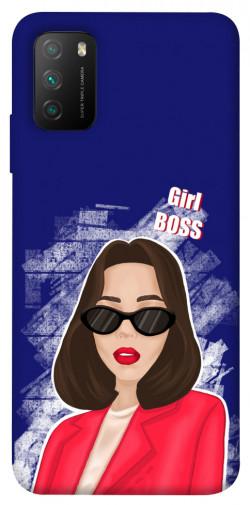 Чехол itsPrint Girl boss для Xiaomi Poco M3