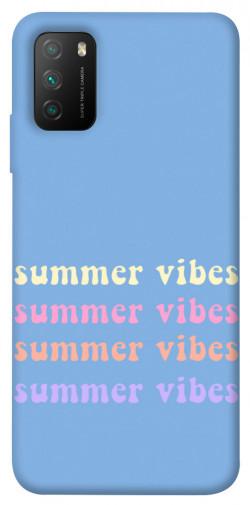 Чехол itsPrint Summer vibes для Xiaomi Poco M3