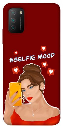 Чехол itsPrint Selfie mood для Xiaomi Poco M3