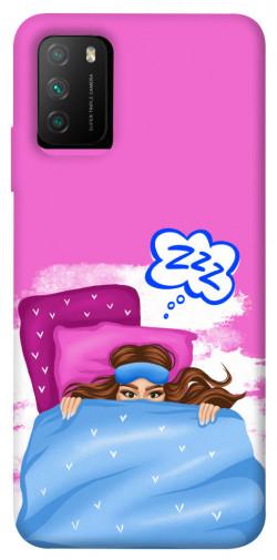 Чехол itsPrint Sleepу girl для Xiaomi Poco M3