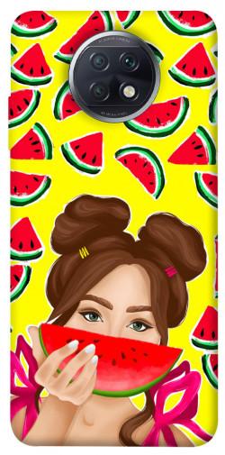 Чехол itsPrint Watermelon girl для Xiaomi Redmi Note 9 5G / Note 9T