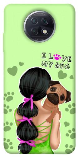 Чехол itsPrint Love my dog для Xiaomi Redmi Note 9 5G / Note 9T