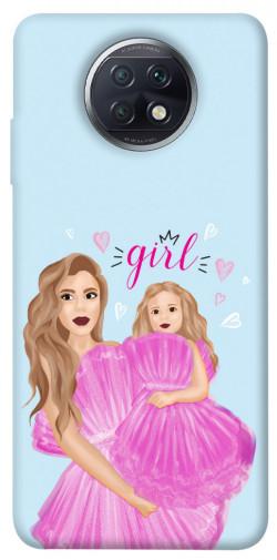 Чехол itsPrint Girls couple look для Xiaomi Redmi Note 9 5G / Note 9T
