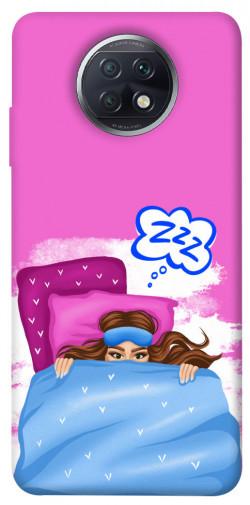 Чехол itsPrint Sleepу girl для Xiaomi Redmi Note 9 5G / Note 9T