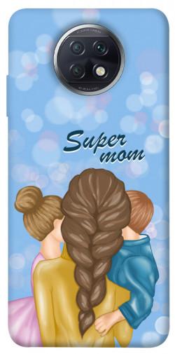 Чехол itsPrint Super mommy для Xiaomi Redmi Note 9 5G / Note 9T