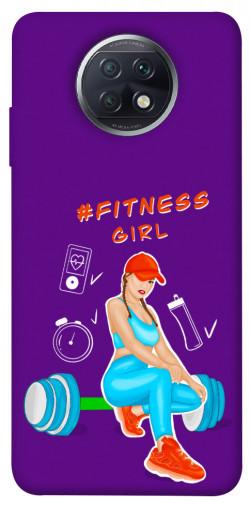 Чехол itsPrint Fitness girl для Xiaomi Redmi Note 9 5G / Note 9T