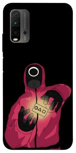 Чехол itsPrint Squid Game picture 9 для Xiaomi Redmi Note 9 4G / Redmi 9 Power / Redmi 9T