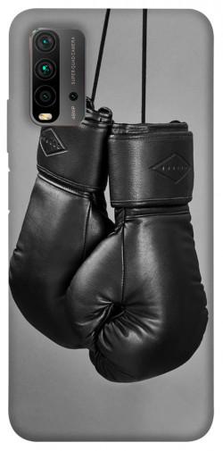 Чехол itsPrint Черные боксерские перчатки для Xiaomi Redmi Note 9 4G / Redmi 9 Power / Redmi 9T