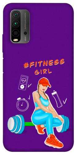 Чехол itsPrint Fitness girl для Xiaomi Redmi Note 9 4G / Redmi 9 Power / Redmi 9T