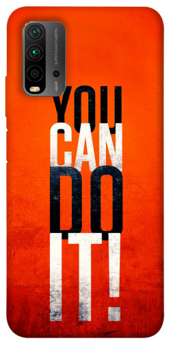 Чехол itsPrint You can do it для Xiaomi Redmi Note 9 4G / Redmi 9 Power / Redmi 9T