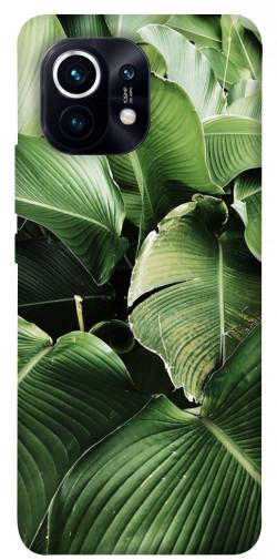 Чехол itsPrint Тропическая листва для Xiaomi Mi 11