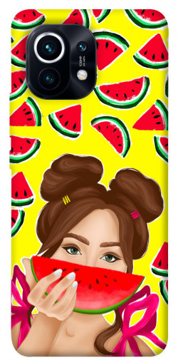 Чехол itsPrint Watermelon girl для Xiaomi Mi 11