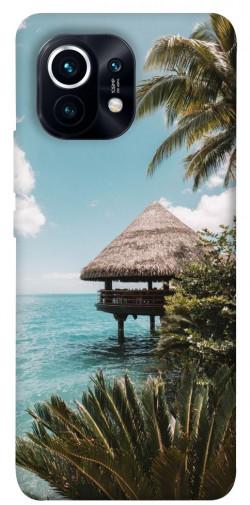 Чехол itsPrint Тропический остров для Xiaomi Mi 11
