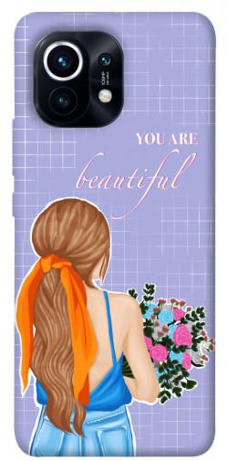 Чехол itsPrint You are beautiful для Xiaomi Mi 11