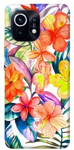 Чехол itsPrint Цветочный коктейль для Xiaomi Mi 11