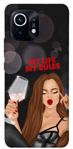 Чехол itsPrint My life my rules для Xiaomi Mi 11